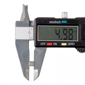 OLOEY Strong Neodymium Magnet NdFeB N35 5x5x5mm 50 PCS - F001699 - Silver - 2