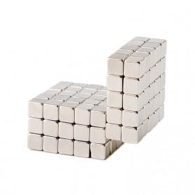 Taffware Strong Neodymium Magnet NdFeB N35 5x5x5mm 50 PCS - F001699 - Silver - 6