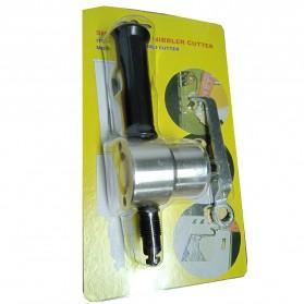 VOKPRO Mata Bor Pemotong Besi Double Head Metal Sheet Cutter 360 Degree Rotating - 160A - 7