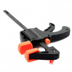 ALLOET Speed Squeeze Ratcheting Clamp Penjepit Kayu 6 Inch - T22106 - Black - 6