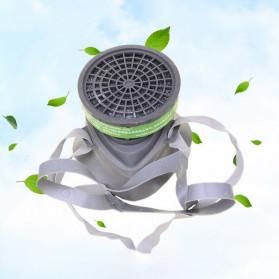 POWECOM Masker Gas Respirator Anti-Dust Industrial Mask - N8304 - White - 2
