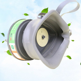 POWECOM Masker Gas Respirator Anti-Dust Industrial Mask - N8304 - White - 4
