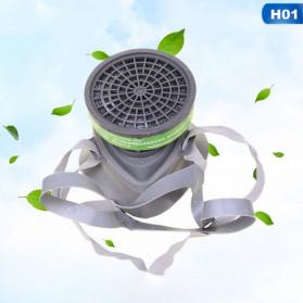 POWECOM Masker Gas Respirator Anti-Dust Industrial Mask - N8304 - White - 6