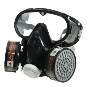 SAFURANCE Masker Gas Respirator Full Face Anti-Dust Chemical - SF01
