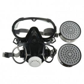 SAFURANCE Masker Gas Respirator Full Face Anti-Dust Chemical - SF01 - 5
