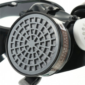 SAFURANCE Masker Gas Respirator Full Face Anti-Dust Chemical - SF01 - 7