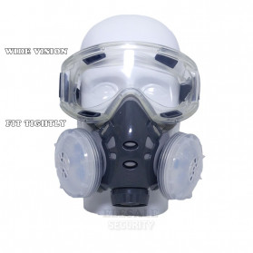 SAFURANCE Masker Gas Respirator Anti-Dust Chemical - SF03 - 3