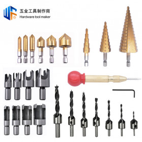Mayitr Hardware Tool Maker Mata Bor Drill Bit Set 24 PCS - ZSD1