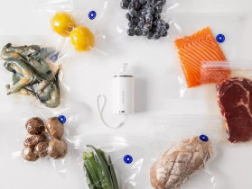 REELANX Handheld Pompa Vacuum Sealer Makanan Food Packing Machine - H1 - White - 2