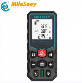 Mileseey Pengukur Jarak Laser Distance Meter Range Finder 40M - X5 - Black