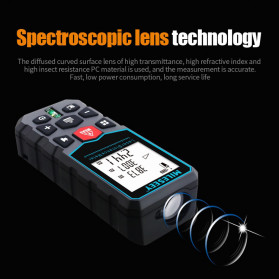 Mileseey Pengukur Jarak Laser Distance Meter Range Finder 40M - X5 - Black - 3