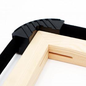 YZL Alat Penjepit Bingkai Kayu Adjustable Rapid Corner Clamp Strap Band 4 Jaw 4 Meter - 9103 - 3
