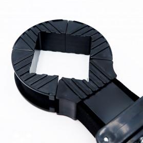 YZL Alat Penjepit Bingkai Kayu Adjustable Rapid Corner Clamp Strap Band 4 Jaw 4 Meter - 9103 - 4