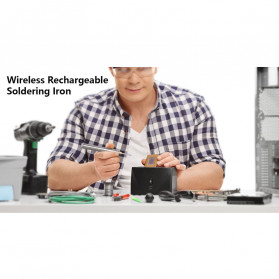HANDSKIT Solder Iron Wireless Portable USB Charging 5V 8W  - HSI58 - 4