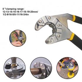 Mnycxen Kunci Pas Multifungsi 8 in 1 Adjustable Hexagonal Wrench - UW81 - Black - 4