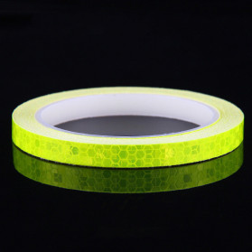 DUUTI Reflective Tape Adhesive Stiker Sepeda MTB Bike 800x1CM - MT800 - Yellow