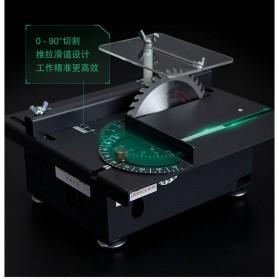 WOLIKE Table Saw Mesin Potong Mini Serbaguna DIY 100W - T5 - Black - 10