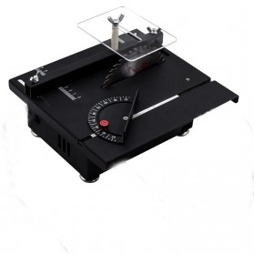 WOLIKE Table Saw Mesin Potong Mini Serbaguna DIY 100W - T5 - Black