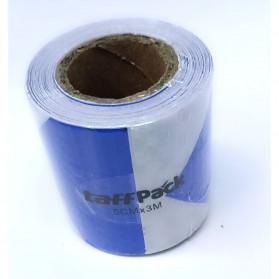 Taffpack Reflective Sticker Marker Mobil Truk Arrow Pattern 5cm 3 Meter - 68 - White/Blue - 7
