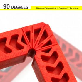 DURATEC Corner Clamp Penjepit Sudut Frame Kaca Kayu Angle 90 Derajat 8 Inch - 867 - Red - 5