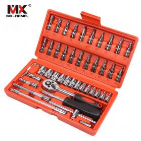 MX DEMEL Obeng Set Reparasi Service Mobil 46 in 1 - MXDZ040 - 2
