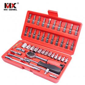 MX DEMEL Obeng Set Reparasi Service Mobil 46 in 1 - MXDZ040 - 3