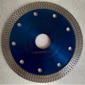 Grimz Kepala Gergaji Diamond Saw Blade Angle Grinder Blade Marble Blade 105mm - Gsz 23 - Silver Blue - 7