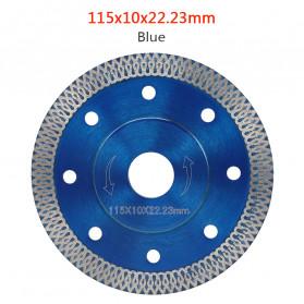 Grimz Kepala Gergaji Diamond Saw Blade Angle Grinder Blade Marble Blade 115mm - Gsz 23 - Silver Blue