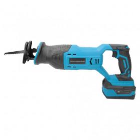 NEWONE Gergaji Listrik Cordless Reciprocating Chain Saw 20V - M8207 - Black/Blue - 2