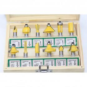 RCT Mata Bor Drill Bit Mitter Router Bit Milling Tool Shank 8mm 12PCS - TCA12 - 3