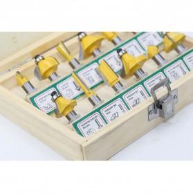 RCT Mata Bor Drill Bit Mitter Router Bit Milling Tool Shank 8mm 12PCS - TCA12 - 5