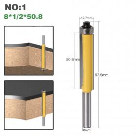 JGZUI Mata Bor Drill Bit Trim Router 8mm Shank 50mm - C5