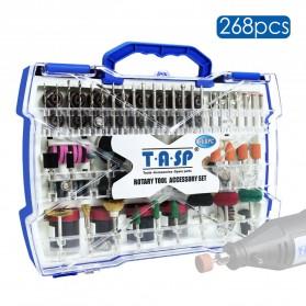 TASP Set Mata Bor Grinding Polishing Cutting Drill 1/8 Inch 268 PCS - MMD001
