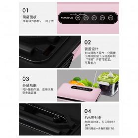 FUMADUN Pompa Vacuum Sealer Air Sealing Food Packing Preservation - F001 - Black - 10
