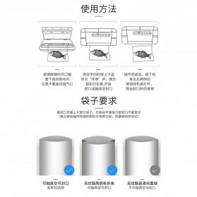 FUMADUN Pompa Vacuum Sealer Air Sealing Food Packing Preservation - F001 - Black - 11