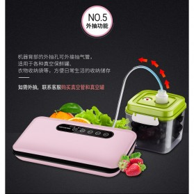 FUMADUN Pompa Vacuum Sealer Air Sealing Food Packing Preservation - F001 - Black - 6