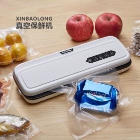 XinBaoLong Pompa Vacuum Sealer Air Sealing Food Packing Preservation - QH-12 - Black - 4