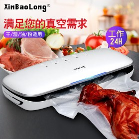 XinBaoLong Pompa Vacuum Sealer Air Sealing Food Packing Preservation - QH-03 - Black - 2