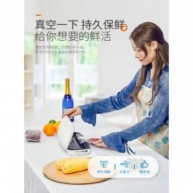 XinBaoLong Pompa Vacuum Sealer Air Sealing Food Packing Preservation - QH-03 - Black - 3