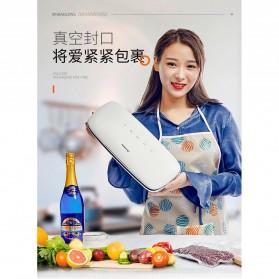 XinBaoLong Pompa Vacuum Sealer Air Sealing Food Packing Preservation - QH-03 - Black - 4