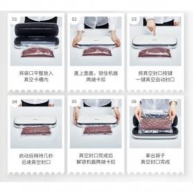 XinBaoLong Pompa Vacuum Sealer Air Sealing Food Packing Preservation - QH-03 - Black - 6