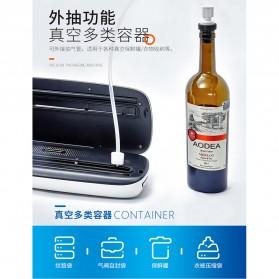 XinBaoLong Pompa Vacuum Sealer Air Sealing Food Packing Preservation - QH-03 - Black - 10