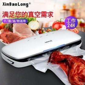 XinBaoLong Pompa Vacuum Sealer Air Sealing Food Packing Preservation - QH-03 - White