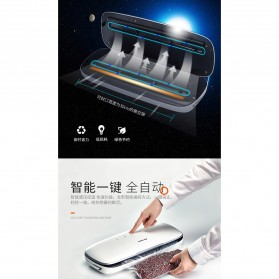 XinBaoLong Pompa Vacuum Sealer Air Sealing Food Packing Preservation - QH-03 - White - 4
