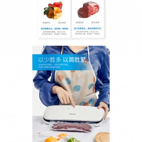 XinBaoLong Pompa Vacuum Sealer Air Sealing Food Packing Preservation - QH-03 - White - 7