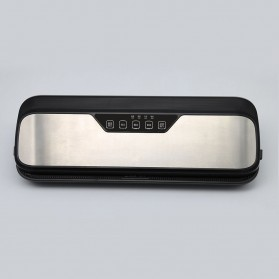 XinBaoLong Pompa Vacuum Sealer Air Sealing Food Packing Preservation Stainless Steel - QH-12 - Black - 9