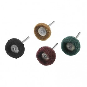 SPTA Mata Bor Polishing Cleaning Brush Scrubbing Fiber Wheel 40PCS - JIG-YT40 - Mix Color - 7