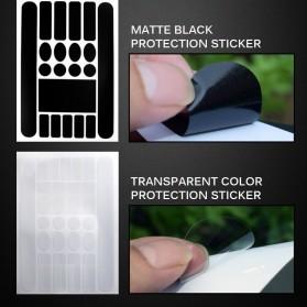Leia Stiker Frame Sepeda Bike Protective Film Scratch Resistant - 1187 - Black - 9