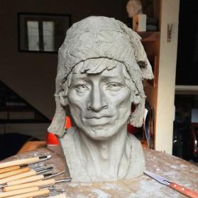 TOOKIE Set Pisau Ukir Pahat Tembikar Ceramic Clay Pottery Sculpting 30 PCS - KSJ-13 - Brown - 11