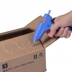BongKim Refill Isi Pistol Lem Tembak Hot Melt Glue Stick 11 x 218 mm - JBY-10 - Transparent - 6